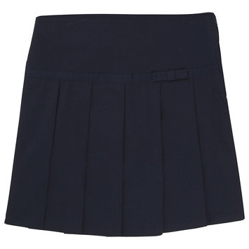 French Toast Pleated Scooter With Grosgrain Ribbon Scooter Skirt Girls
