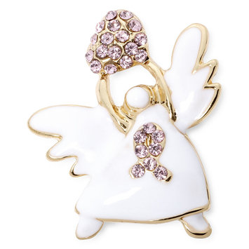 Mixit Breast Cancer Awareness Angel Pin