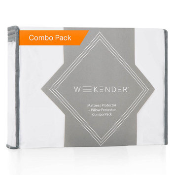 Weekender Twin XL Jersey Waterproof Mattress Protector and Pillow Protector Combo Pack