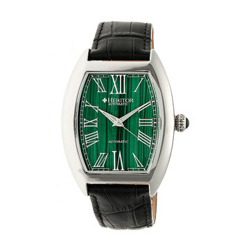 Heritor Automatic HERHR6003 44mm Baron Mens Watch Forest Green