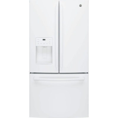 23.8 cu. ft. French Door Refrigerator in White