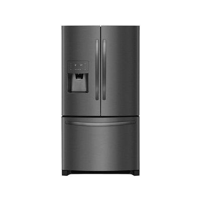 Frigidaire Black French Door Bottom Freezer Refrigerator