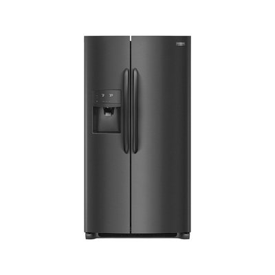 Frigidaire Gallery Black Stainless Steel Side-By-Side Refrigerator