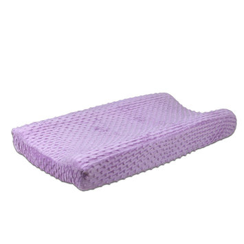 The Peanut Shell® Zoe Changing Pad Cover in Purple