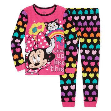Fisher-price Disney 2-pc. Minnie Mouse Pajama Set Girls