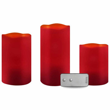 Apothecary Led Cinnamon 3-pc. Flameless Candle
