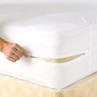 Lcm Home Fashions, Inc. Vinyl Waterproof Zippered Mattress Cover
