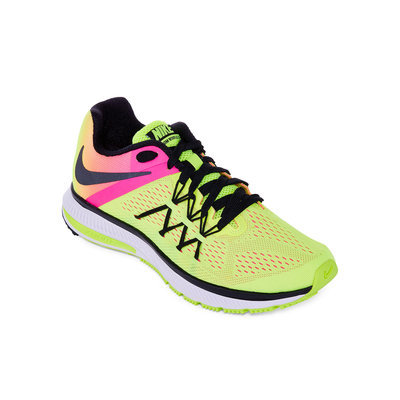 Nike Men's Nike Zoom Winflo 3 Running Shoes (Multi Color Oc) - 7.5 D