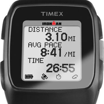 Timex Ironman GPS Unisex Black Smart Watch-Tw5m11700f5