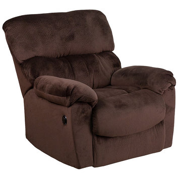 Flash Furniture Sharpei Power Recliner with Push Button