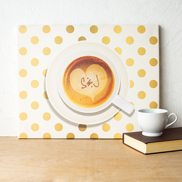 Cathys Concepts Personalized Espresso Coffee Canvas