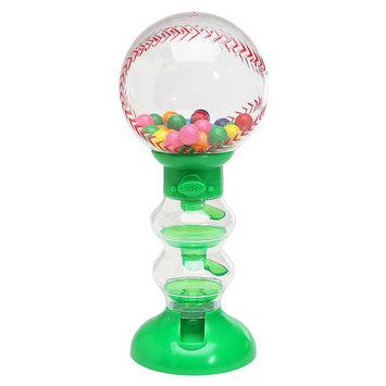 Asstd National Brand Sweet N Fun Baseball Gumball Machine Bank With Gumballs