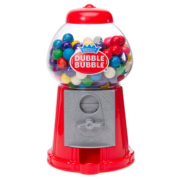 Asstd National Brand Dubble Bubble Classic Gumball Machine With Dubble Bubble Gumballs