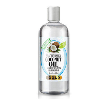 Healing Solutions Fractionated Coconut Oil (Carrier Oil) (4oz)