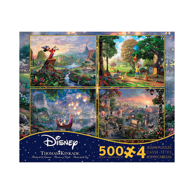 Thomas Kinkade Disney Four n One Multi Pack