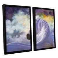 Brushstone Spirit 2-pc. Floater Framed Canvas WallArt