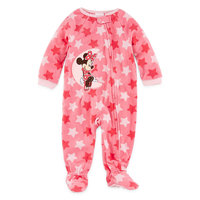 Desigual Disney Baby Collection Minnie Mouse Footed Bodysuit - Baby Girls newborn-24m