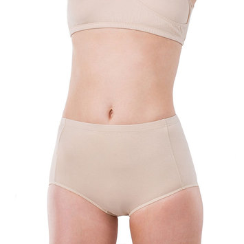Elita Classic-Cut Full Briefs-BEIGE-Large
