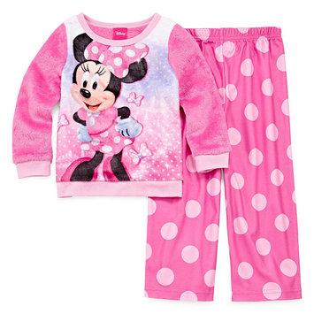 Fisher-price Disney 2-pc. Minnie Mouse Pant Pajama Set Girls