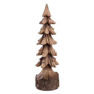 Midwest Cannon Falls Carved Tree Tabletop Decor