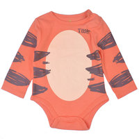 Desigual Disney's Winnie the Pooh Tigger Bodysuit - Baby Boy, Size: 3-6 MONTHS, Orange