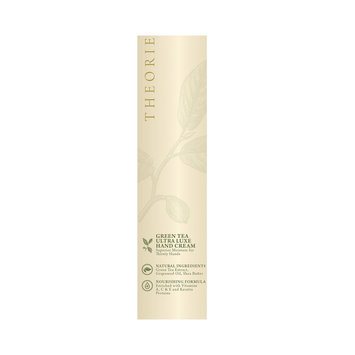 Theorie Saga Collection Green Tea Ultra Luxe Hand Cream, 3.65 oz