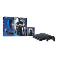 PS4 Slim 500GB Uncharted 4 Bundle