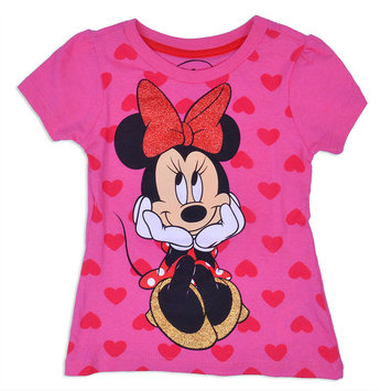 Fisher-price Disney Minnie Mouse Graphic T-Shirt-Toddler Girls