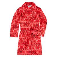 Licensed Properties Red Fairisle Family Pajama Robe- Toddler