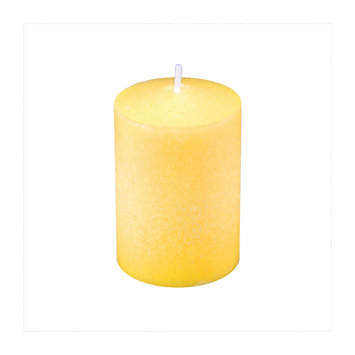 Lumabase Citronella Scented Votive Candles, Yellow