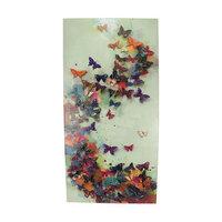Kaemingk 40 L'Eau de Fleur Multi-Colored Butterfly Liberation Impressionistic Canvas Wall Art