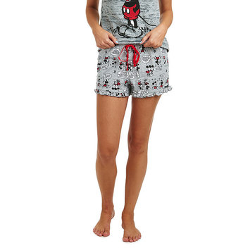 Secret Santa Disney's Mickey Mouse Ruffled Pajama Shorts