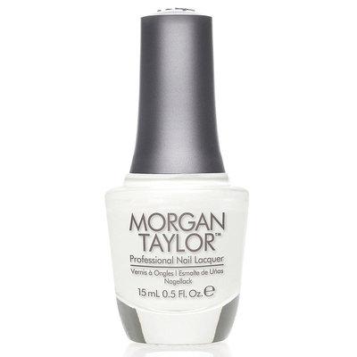 Morgan Taylor All White Now Nail Polish - .5 oz.