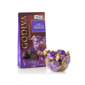 Wrapped Dark Chocolate Truffles