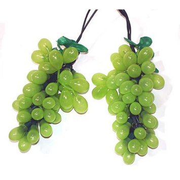 Sienna Tuscan Winery Green Grape Summer Garden Patio Christmas Light Set - 7 Clusters 35 Lights