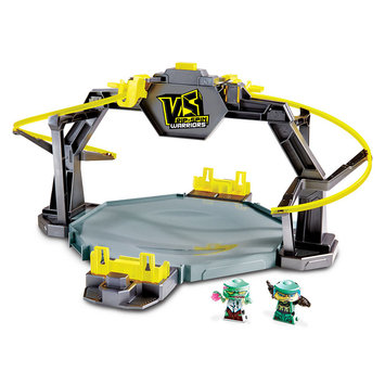 Mattel VS Rip-Spin Warriors Twin Tornado Arena Playset with 2 Warrior