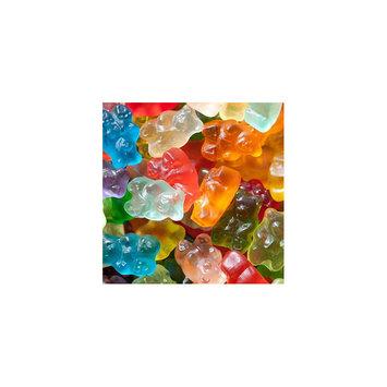 Asstd National Brand 12 Flavor Assorted Gourmet Gummi Bears 1lb