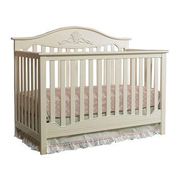 Fisher-Price Mia Convertible Crib - Off White