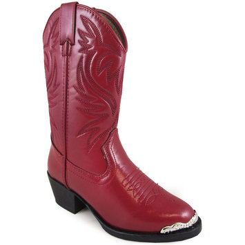 Smoky Mountain Boots, Inc Smoky Mountain Childrens Mesquite Boots 2.5 Red