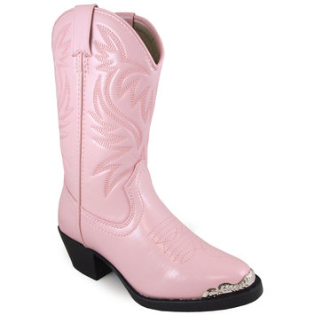 Smoky Mountain Boots, Inc Smoky Mountain Childrens Mesquite Boots 1.5 Pink