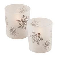 LumaBase Glass LED Candles