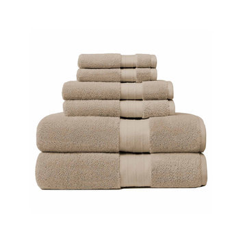 Asstd National Brand Crowning Touch Luxury Turkish 6-pc. Towel Set