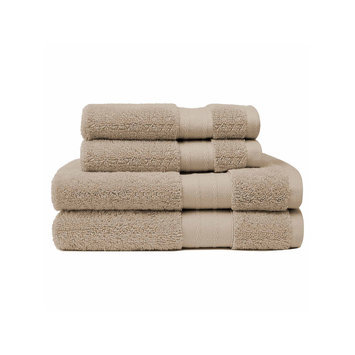 Asstd National Brand Crowning Touch Luxury Turkish 4-pc. Towel Set