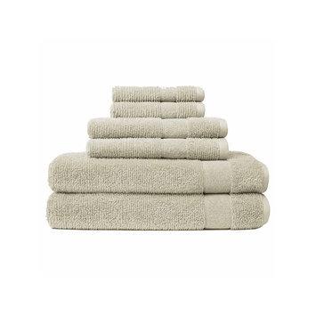 Asstd National Brand Softesse Kushlon Textured 6-pc. Towel Set