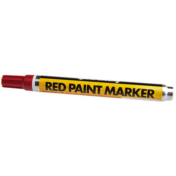 Forney Industries Forney 60314 Paint Marker Red
