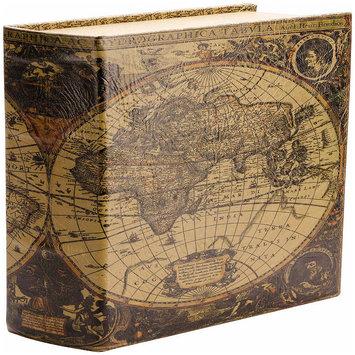 Barska Antique Map Diversion Book Lock Box