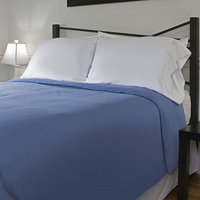 Outlast Temperature Regulating 300T Duvet Cover Midnight Blue Queen 91 x 99