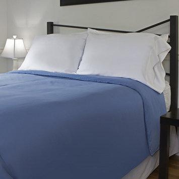 Outlast Temperature Regulating 300T Duvet Cover Midnight Blue Queen 91 x 99