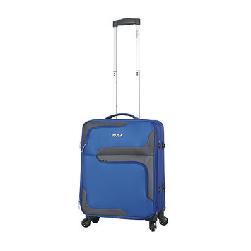 Aero-lite Co. INUSA 3D-City lightweight softside spinner 20 inch carry-on Blue