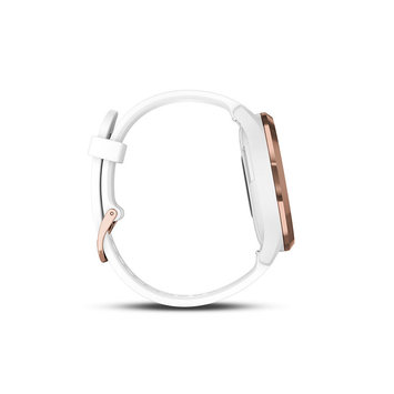 Garmin vivomove HR Rose Gold Stylish Hybrid Smartwatch